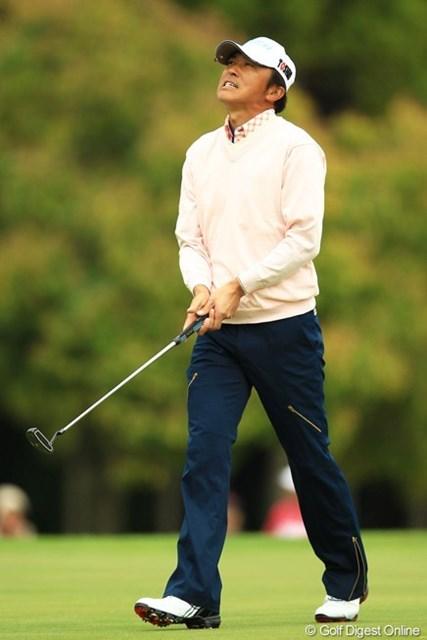 2013年 東建ホームメイトカップ 3日目 広田悟 思うようなゴルフが出来ず悔しい表情ばかりでした。26位タイに後退ですが、最終日にまた巻き返しを期待しましょう!
