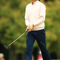 思うようなゴルフが出来ず悔しい表情ばかりでした。26位タイに後退ですが、最終日にまた巻き返しを期待しましょう! 2013年 東建ホームメイトカップ 3日目 広田悟