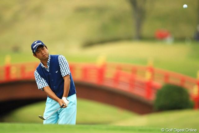 2013年 東建ホームメイトカップ 3日目 池田勇太 ボギー先行のゴルフで、一時はイーブンパーまで沈みましたが、何とかカムバック。明日はまた強い風が吹き荒れる予報なので、また勇太の耐えるゴルフが炸裂すればチャンスありですね。