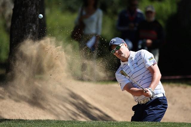 2013年 スペインオープン 3日目 マーク・ウォーレン 6シーズンぶりとなるツアー通算3勝目に王手をかけたM,ウォーレン(Richard Heathcote /Getty Images)