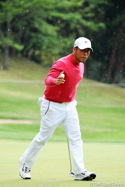 2013年 つるやオープンゴルフトーナメント 2日目 原口鉄也 「あのボロボロの体で・・・」。手術を経験したものが共有する感覚。66歳の奮闘に触発されないはずがない。