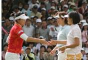 We Love KOBEサントリーレディスオープンゴルフトーナメント最終日 チャンナ