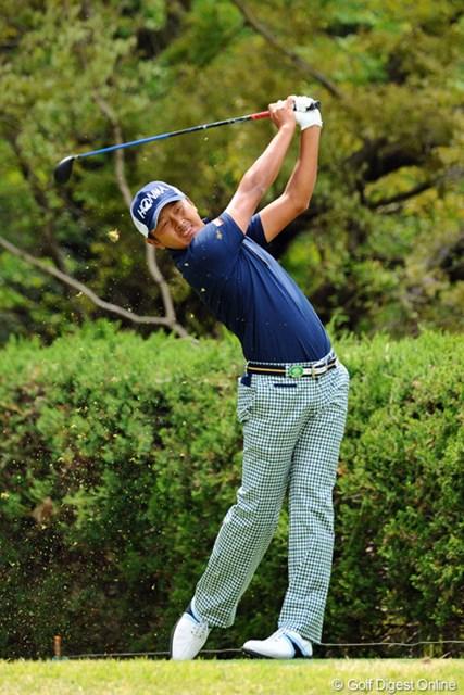 2013年 つるやオープンゴルフトーナメント 3日目 岩田寛 2アンダーの69と今ひとつ伸ばしきれず、昨日の3位タイから後退。因縁のつるやオープンで最終日に巻き返し成るか!