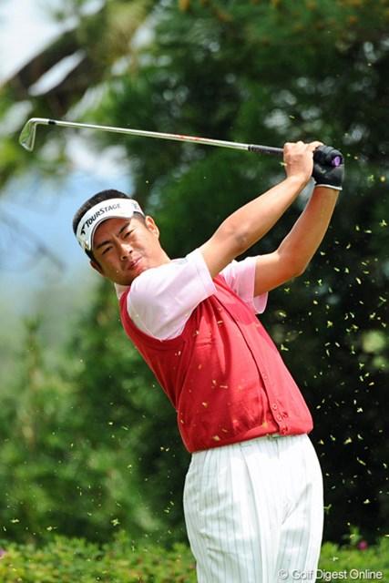 2013年 つるやオープンゴルフトーナメント 3日目 池田勇太 鬼門の試合での予選突破で、3日目に4つ伸ばして10位タイ。北新地での豪遊自粛が効果を発揮したようです。10位T