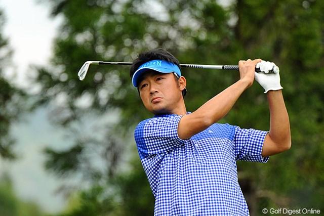 2013年 つるやオープンゴルフトーナメント 3日目 市原弘大 世界で戦う数少ない日本人選手、市原弘大が好プレーを続けている