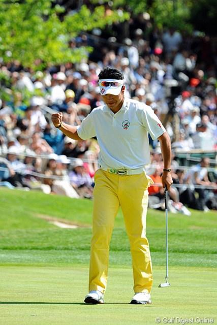 2013年 つるやオープンゴルフトーナメント 最終日 松山英樹 終盤見せたコース上での集中力と、会見時の天然っぽさが好対照の松山英樹