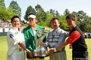 2013年 つるやオープンゴルフトーナメント 最終日 松山英樹、進藤大典、阿部靖彦、金田相範