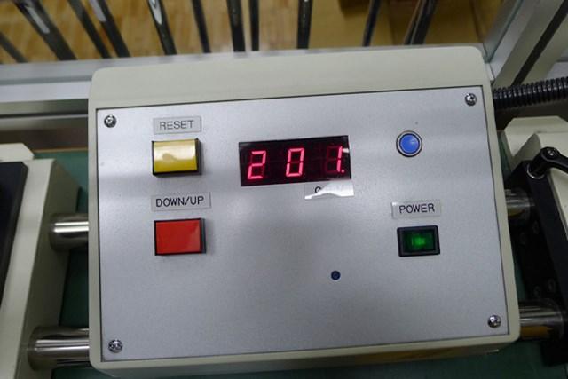マーク試打 グラファイトデザイン ツアーAD SL-II 振動数はSL-4(RR2)が201cpm、SL-5(SR)が246cpm