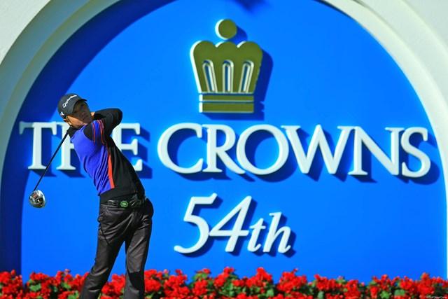 2013年 中日クラウンズ 初日 ホ・インヘ 非常に安定したゴルフでしたね。風がまだ弱かった朝早いスタートもラッキーでした。3位タイです。