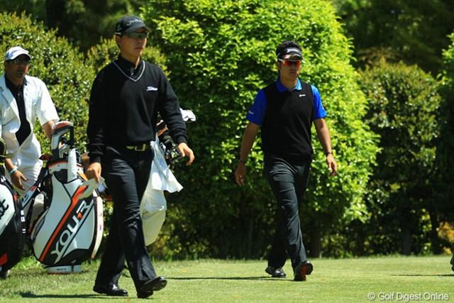 2013年 中日クラウンズ 2日目 川村昌弘 松山英樹 間違いなく将来のゴルフ界を背負って立つ2人です。2人とも玄人好みのゴルフが魅力的です。