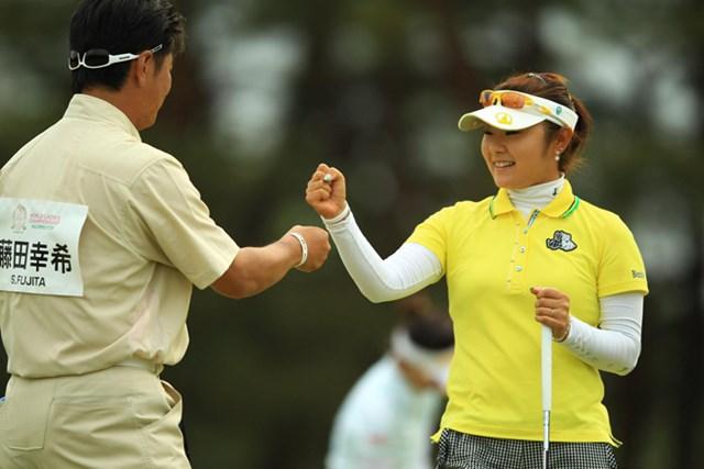 2013年 ワールドレディスチャンピオンシップサロンパスカップ 2日目 藤田幸希 体調も徐々に回復。単独首位で決勝ラウンドを迎える藤田幸希