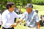 2013年 ザ・レジェンド・チャリティプロアマトーナメント 最終日 青木功 羽川豊