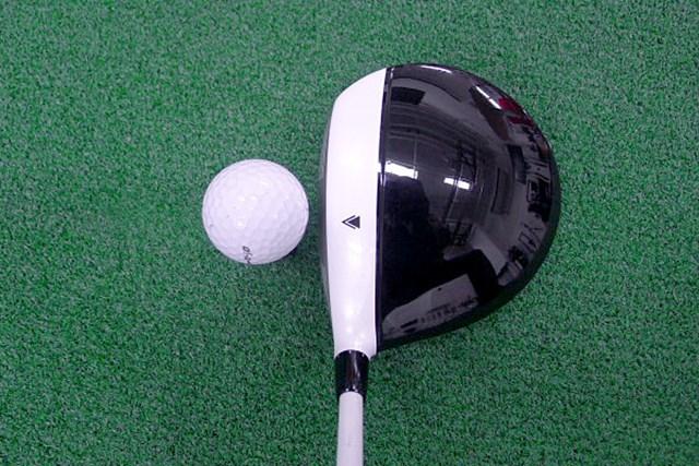 マーク試打 ヨネックス i-EZONEドライバー 前作に比べシャローフェースになった丸型形状のヘッド