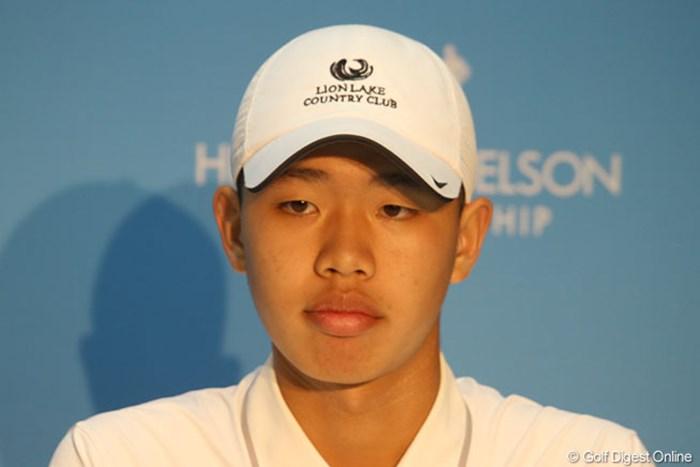 PGAツアー3試合目に挑むグァン・ティンラン。過去2戦は連続予選通過を果たしている 2013年 HP バイロンネルソン選手権 事前 グァン・ティンラン