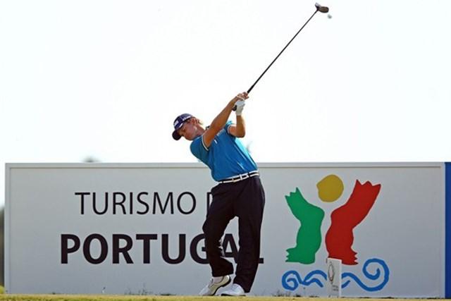 2013年 マデイラアイランドオープン 事前 トム・ルイス ポルトガルはツアー初勝利を飾った地。T.ルイスが思いでの舞台で躍動を見せるか(Getty Images)