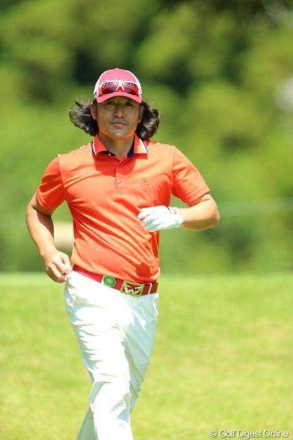 2013年 日本プロゴルフ選手権大会 日清カップヌードル杯 2日目 チェ・ホソン 今日も完全に僕を見てくれた。