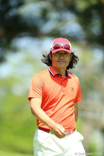 2013年 日本プロゴルフ選手権大会 日清カップヌードル杯 2日目 チェ・ホソン 僕を見続けてくれた。