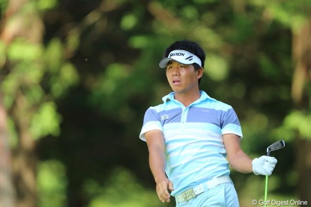 2013年 日本プロゴルフ選手権大会 日清カップヌードル杯 3日目 呉阿順 いい感じできてたのに後半叩いちゃったね。