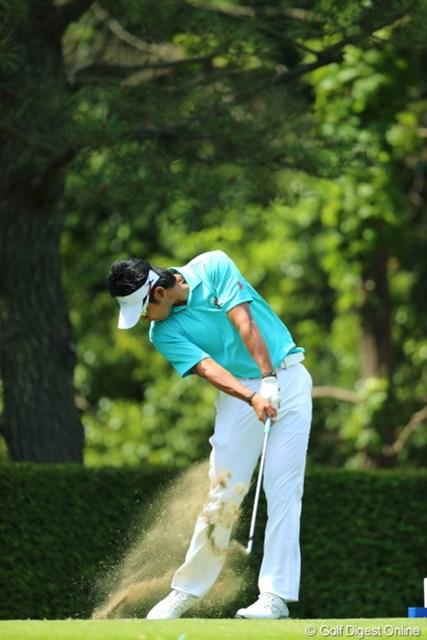 2013年 日本プロゴルフ選手権大会 日清カップヌードル杯 3日目 松山英樹 ザ・ハンドファースト!