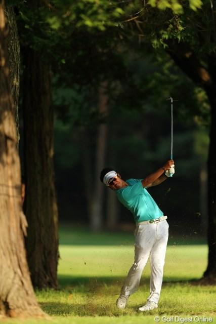 2013年 日本プロゴルフ選手権大会 日清カップヌードル杯 3日目 松山英樹 やっぱ、プロってリカバリーがハンパないね。