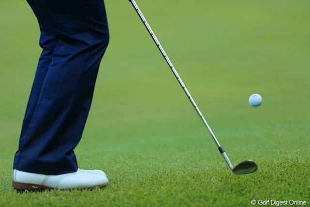 2013年 日本プロゴルフ選手権大会 日清カップヌードル杯 3日目 宮里優作 すご!ボールのナンバーまで見える!