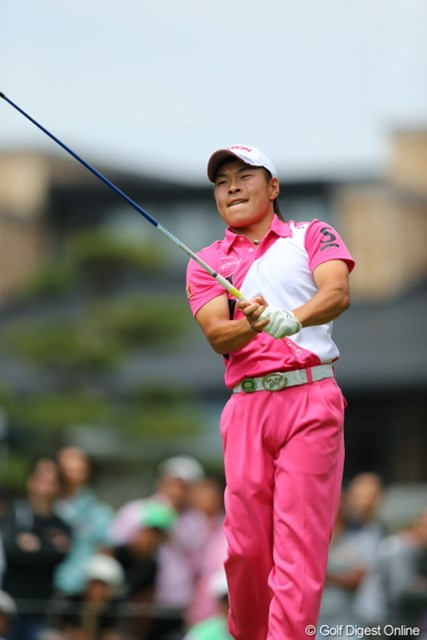 2013年 日本プロゴルフ選手権大会 日清カップヌードル杯 最終日 藤本佳則 3日目に大叩きで後退した藤本だったが、最終日に役者のひとりになった。
