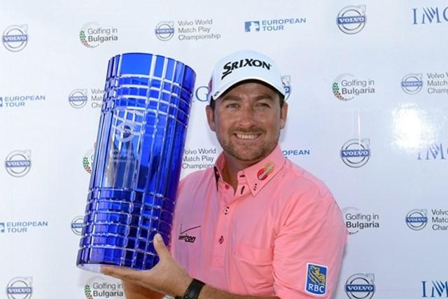 昨年の決勝で敗れた雪辱を果たし、名だたる歴代優勝者の1人に加わったG.マクドウェル(Getty Images)
