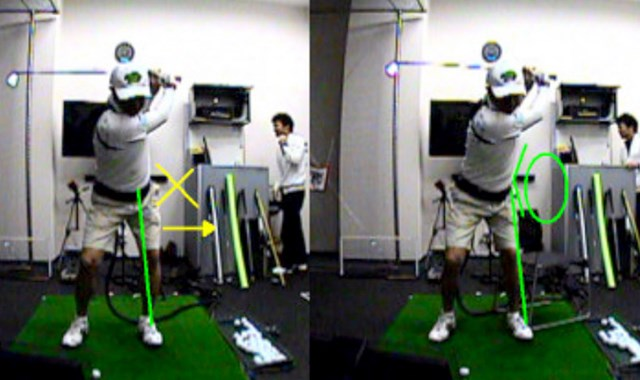 golftec ダウンスイングの懐を徹底確保! 3-1