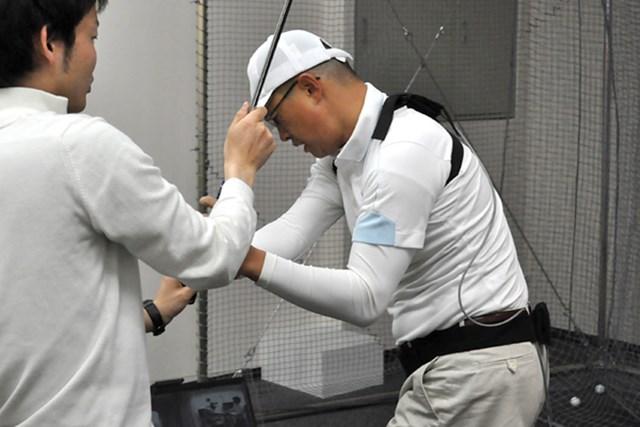 golftec ダウンスイングの懐を徹底確保! 4-2