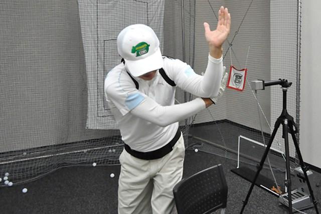 golftec ダウンスイングの懐を徹底確保! 5-1