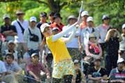 2013年 中京テレビ・ブリヂストンレディスオープン 2日目 横峯さくら