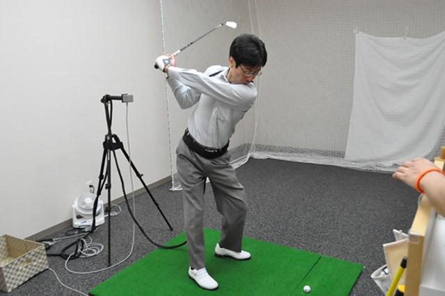 golftec 「く」の字のトップにご用心! 1-1