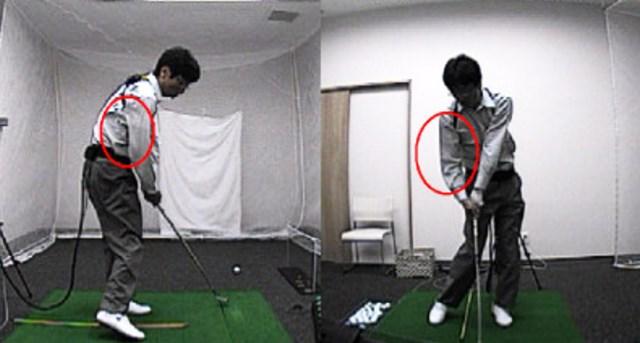 golftec 「く」の字のトップにご用心! 2-2