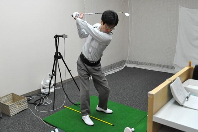 golftec 「く」の字のトップにご用心! 3-1