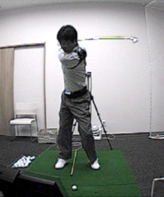 golftec 「く」の字のトップにご用心! 3-2