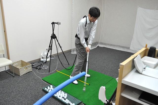 golftec 「く」の字のトップにご用心! 4-1