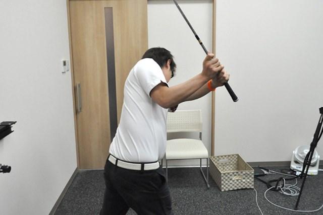 golftec 「く」の字のトップにご用心! 4-2