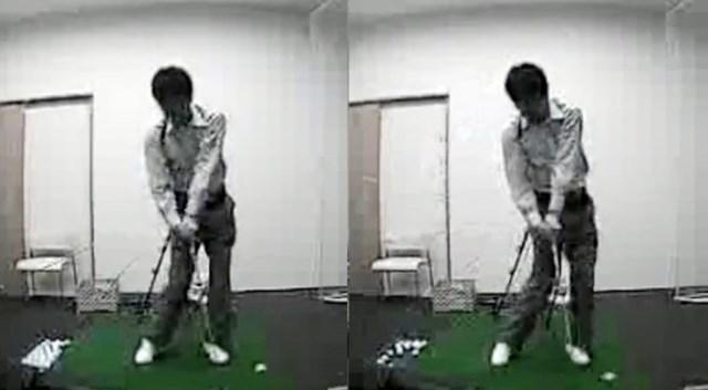 golftec 「く」の字のトップにご用心! 6-2