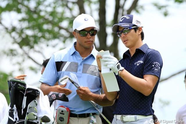 昨年大会は9位タイ。1年前と同じキャディを採用してビッグトーナメントを迎える石川遼