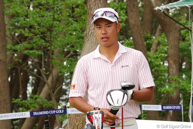 2013年 ダイヤモンドカップゴルフ 事前情報 松山英樹 開幕前日はプロアマ戦に出場して調整した松山英樹。