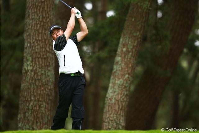 2013年 ダイヤモンドカップゴルフ 初日 丸山大輔 今季はアジアシリーズからの国内ツアーで予選通過が2回。丸山大輔は難関・大洗GCで復調なるか。