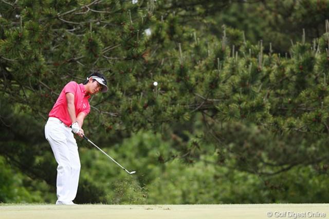 2013年 ダイヤモンドカップゴルフ 初日 加賀崎航太 日本ツアーデビューの16歳プロ、航太君は5オーバーと出遅れ