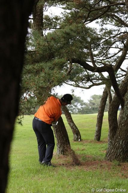 2013年 ダイヤモンドカップゴルフ 初日 松山英樹 大洗の洗礼?