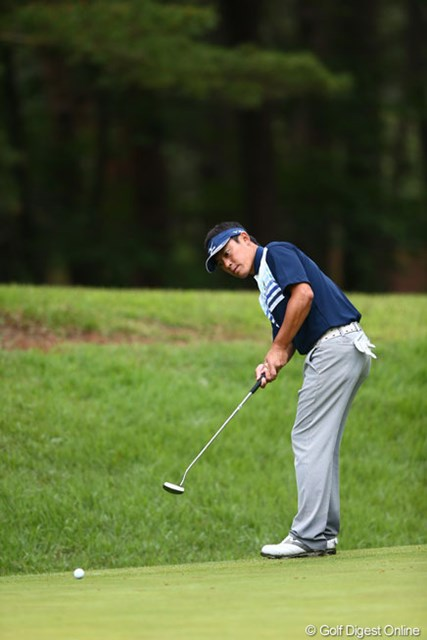 2013年 ダイヤモンドカップゴルフ 初日 上田諭尉 「全米オープン」出場も決めました。3アンダー7位タイ