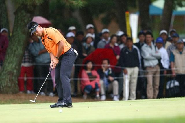 2013年 ダイヤモンドカップゴルフ 初日 松山英樹 今日は得意のパターが・・・1アンダー27位タイ