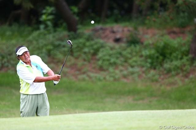 2013年 ダイヤモンドカップゴルフ 初日 尾崎将司 5オーバーと出遅れ・・・明日の巻き返しを期待です