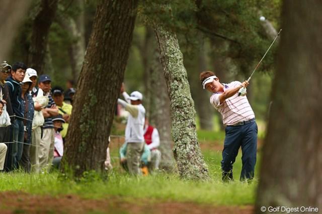2013年 ダイヤモンドカップゴルフ 3日目  白佳和 大洗の風に苦戦する選手も多く攻略するのも大変そうです