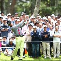 アイアンはやはりダウンブロー? 2013年 ダイヤモンドカップゴルフ 3日目 松山英樹