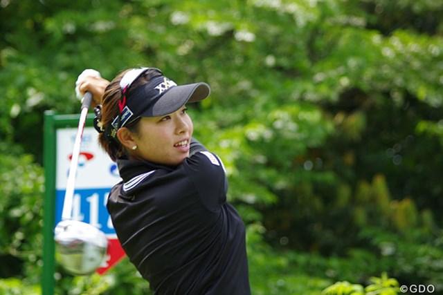 現在、賞金ランキング1位の森田理香子。その差を広げることはできるか?