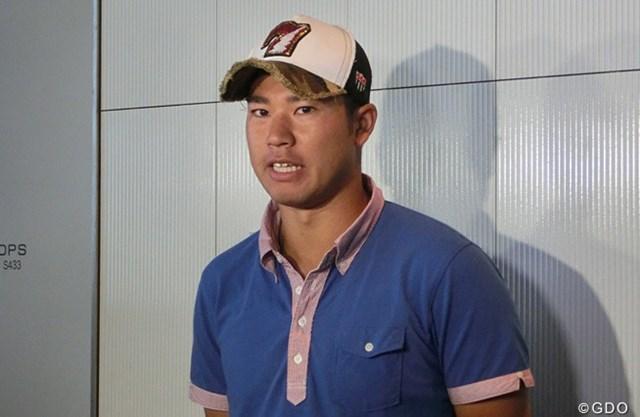 2013年 全米オープン 出国会見 松山英樹 初の全米オープンに挑む松山英樹。まずは予選通過を目指す
